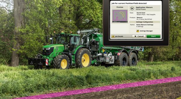 AutoSetup John Deere: konfiguracja ciągnika i maszyny jednym kliknięciem