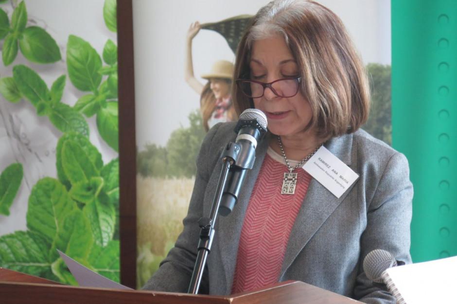 Ana Maria Ramirez, ambasador Argentyny w Polsce, fot. M. Tyszka