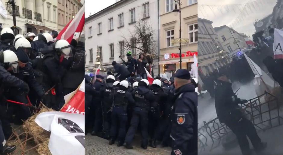 Rolnicy pod PZŁ, protest rozpędziła policja