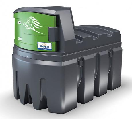 Zbiornik Kingspan Fuelmaster Tanks. Producent daje 10 lat gwarancji na szczelność swoich zbiorników oraz 2 lata gwarancji na pozostałe wyposażenie