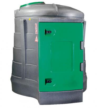 Zbiornik JFC2500 firmy JFC. Podstawowa wersja zbiornika kosztuje ok. 10 tys. zł brutto