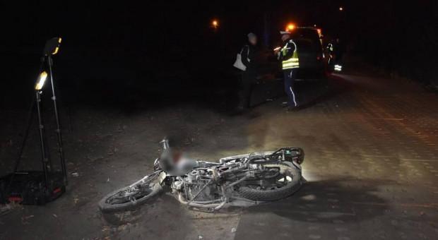 Koń wpadł na motorowerzystę, mężczyzna nie żyje
