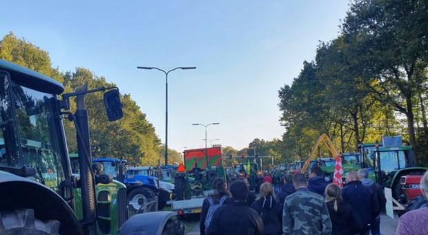 """Nowa fala """"azotowych"""" protestów w Holandii"""