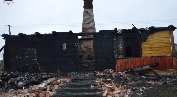 Płonęły domy - jedna ofiara śmiertelna