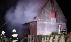 W pożarze pod Wrocławiem zginął mężczyzna, Foto: OSP Smolec