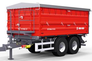Przyczepy Metal-Fachu, w tym tandemowe konstrukcje T730, można kupić w kilku wariantach kolorystycznych