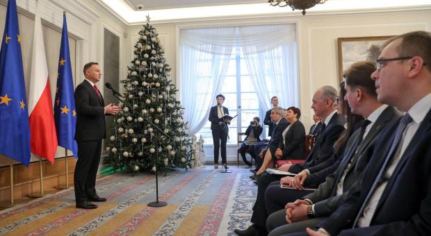Prezydent: warunki życia ludzi zależą od kondycji roślin