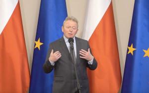 Komisarz Unii Europejskiej ds. Rolnictwa Janusz Wojciechowski