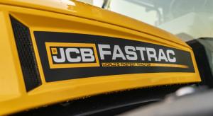 JCB uczciło pobicie rekordu prędkości specjalną edycją ciągników