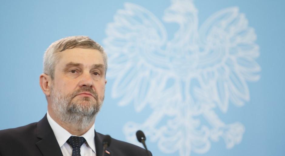 Ardanowski: inspekcja weterynaryjna będzie wzmocniona kadrowo i finansowo