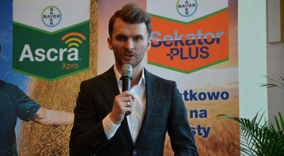 Adam Kopyść z Bayer, fot. M. Tyszka