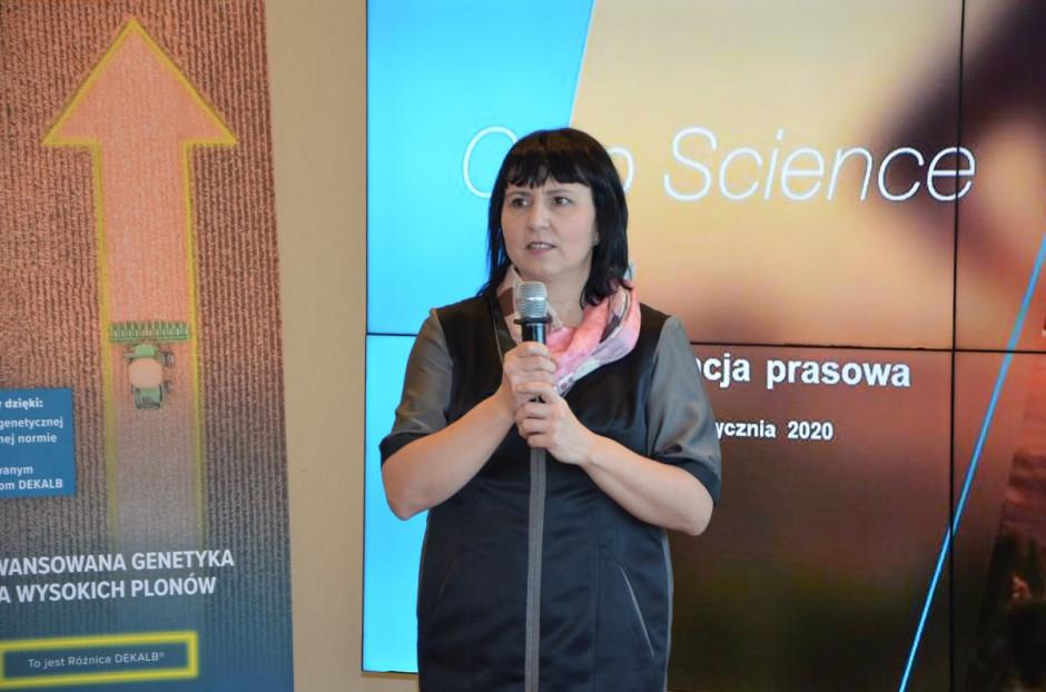 Konferencję prowadziła Elżbieta Socha z Bayer, fot. M. Tyszka