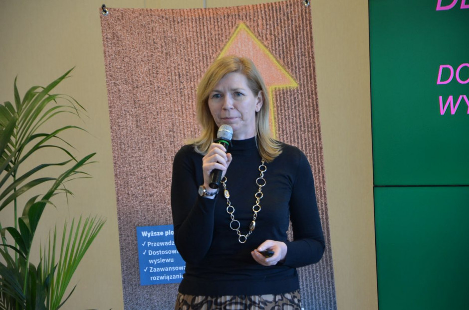 Katarzyna Gallewicz omówiła nowe odmiany kukurydzy marki Deklab, fot. M. Tyszka