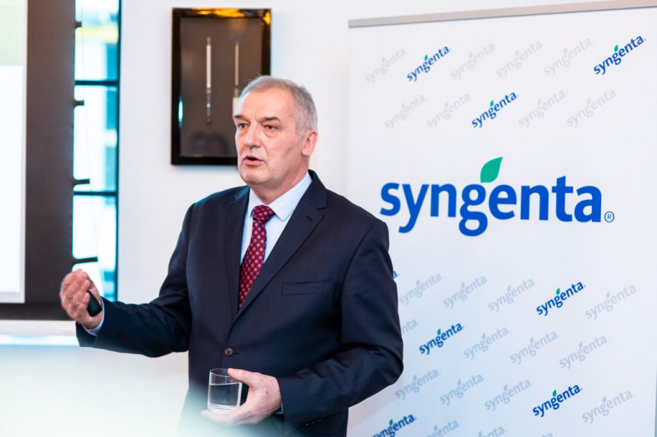 Marek Łuczak, prezes Syngenta Polska, fot. Syngenta