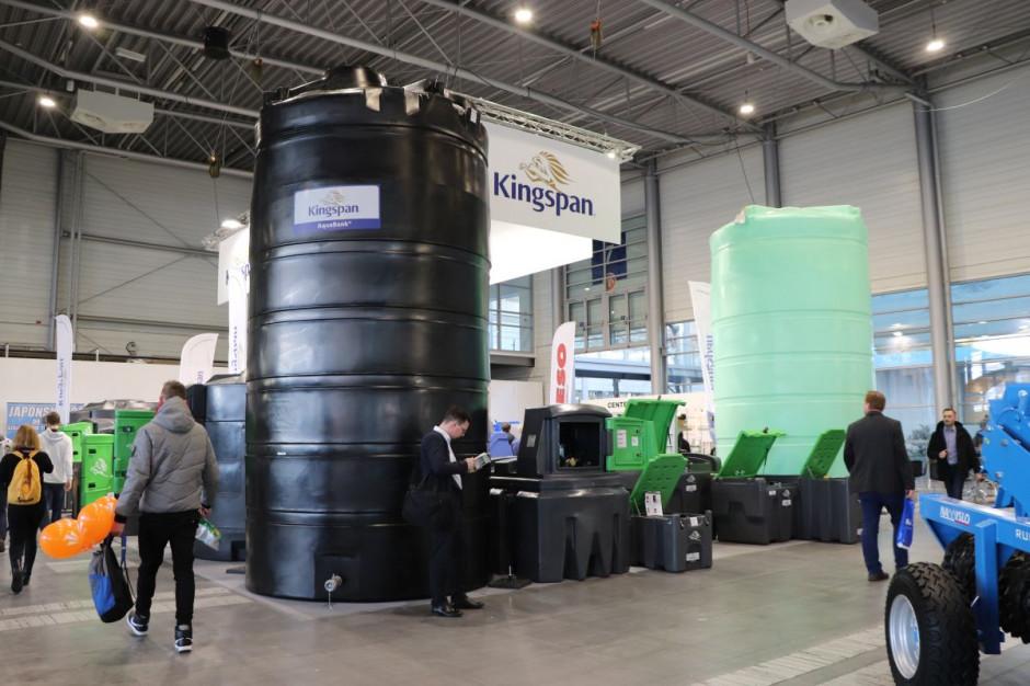 Oferta na zbiorniki na wodę obejmuje pojemności od 9 do 28 tys. litrów. fot. Tomasz Kuchta