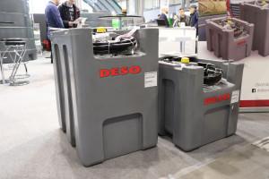 Firma Deso do swojej oferty wprowadziła dwa mobilne zbiorniki na olej napędowy o pojemności 200 i 300 l. fot. Tomasz Kuchta