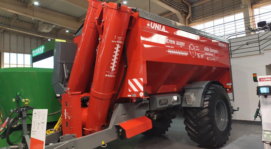 Unia Bizon 16: wóz przeładowczy dla ciągników od 120 KM