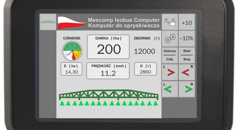 Mescomp Spectra: pierwszy polski komputer w standardzie Isobus