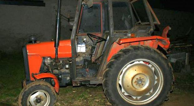 Holowali autem skradziony ciągnik
