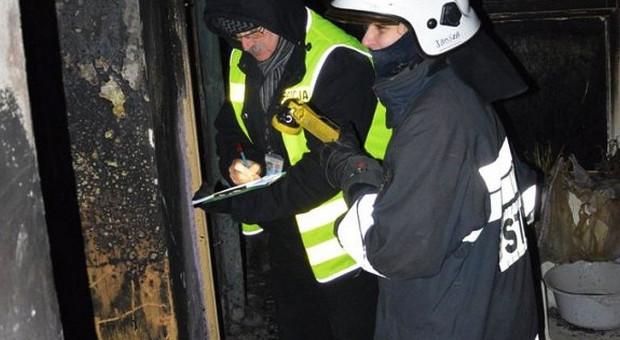 Policjanci zatrzymali seryjnego podpalacza