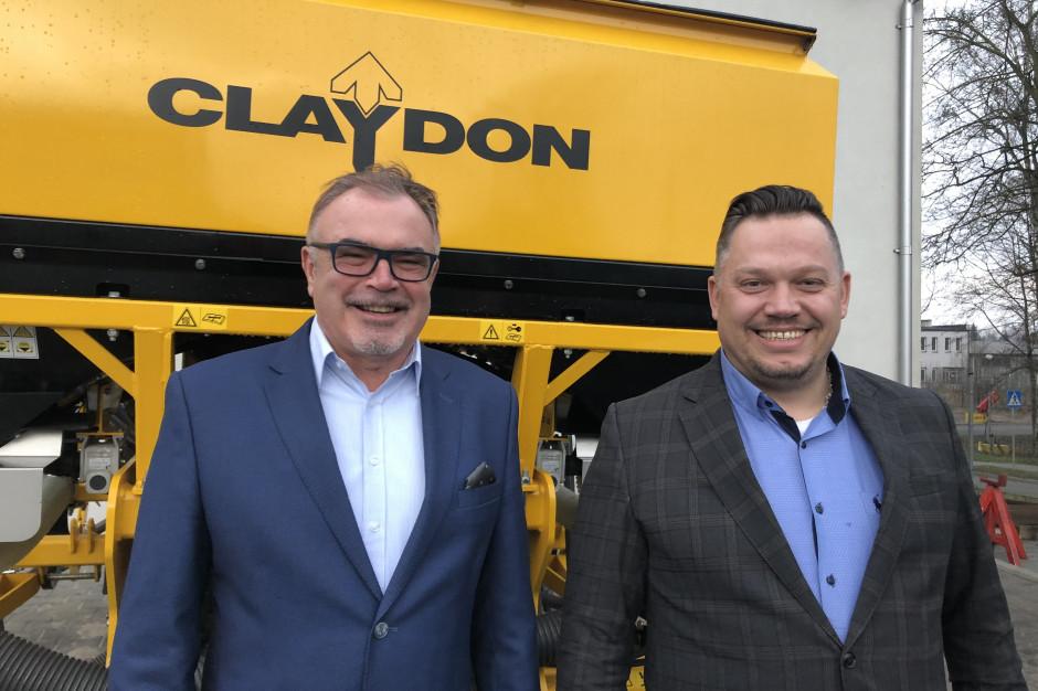 Maszyny Claydon z nowym dystrybutorem na Polskę