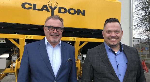 Fricke nowym dystrybutorem maszyn Claydon