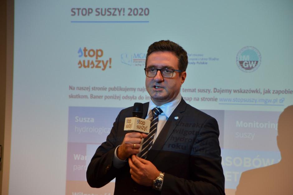 Przemysław Daca, prezes Wody Polskie, fot. M. Tyszka