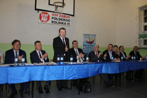 Bogdan Konopka apelował do rolników o współpracę i pomoc