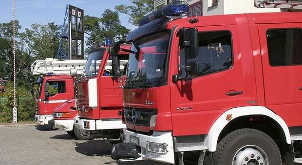 Strażacy ugasili pożar w suszarni kukurydzy k. Inowrocławia