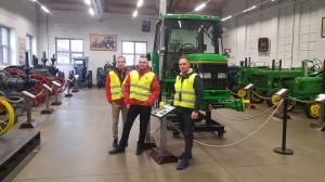 """Obok najnowszych maszyn, rolnik miał również okazję zwiedzić """"Muzeum ciągników John Deere i Lanz"""", fot. mat. prasowe"""
