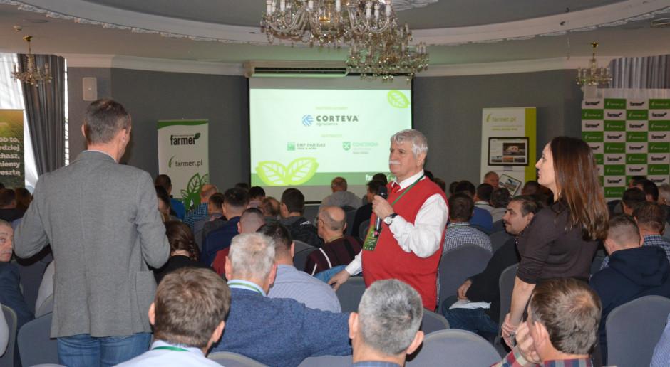 """Rolnicy o suszy podczas konferencji """"Farmera"""""""