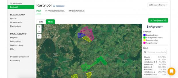 Rozwiązania rolnictwa precyzyjnego eAgronom, fot. mat. prasowe