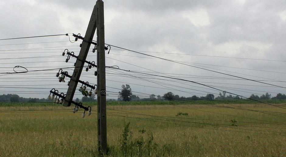 IMGW ostrzega: silny wiatr w pięciu województwach