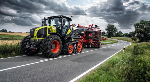 Claas Axion 960 Terra Trac - traktor z nietypowym podwoziem