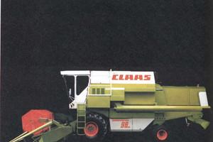 Pierwsza nagroda iF Design przypadła w udziale firmie Claas za Dominatora 98...