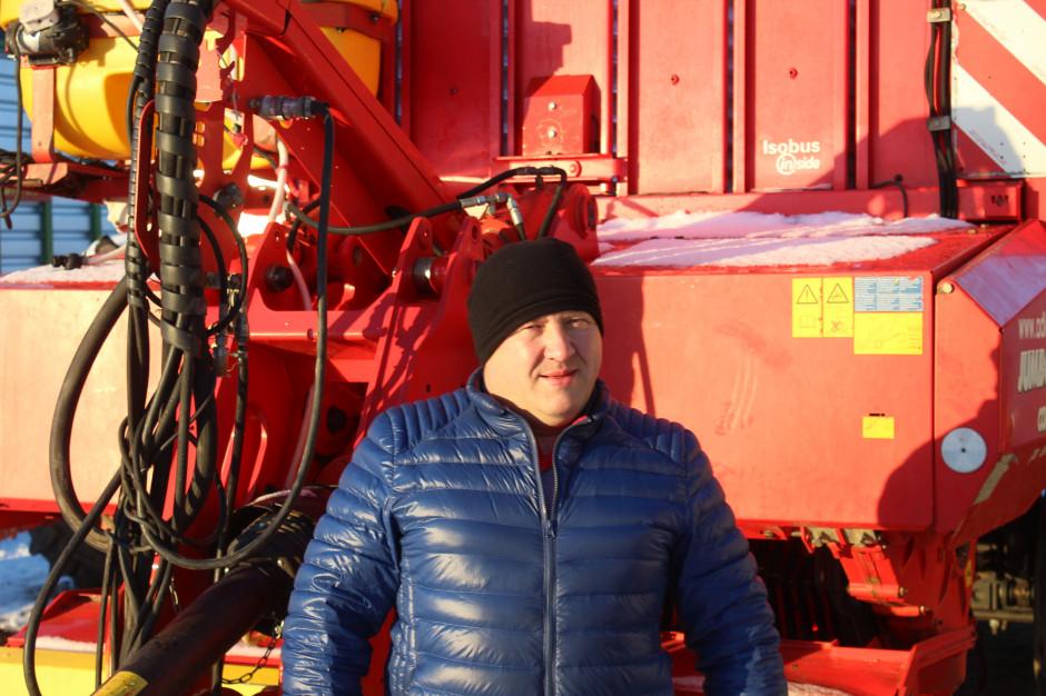 Mirosław Wildowicz, Bielewicze, powiat białostocki, powierzchnia gospodarstwa: ok. 250 ha, uprawy: kukurydza na zielonkę i ziarno, zboża, użytki zielone, chów krów mlecznych