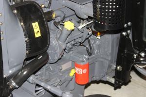 Silniki Kraftów do 3-cylindrowe jednostki bazujące na Perkinsie. Jak zapewniają przedstawiciele firmy, wszystkie części oryginalne Perkins będą tu pasowały, fot.kh