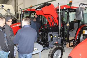 Stoisko Krawiec Traktor na targach, fot.kh