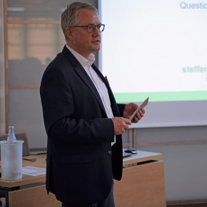Henning Alvermann, Crop Manager, moderator konferencji Fot. C.H.