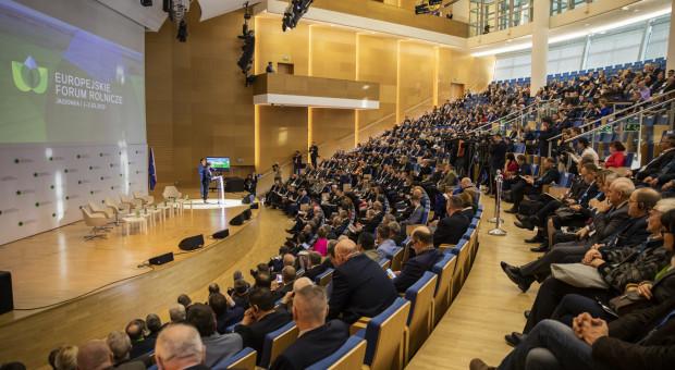 Z powodu koronawirusa Europejskie Forum Rolnicze pod znakiem zapytania