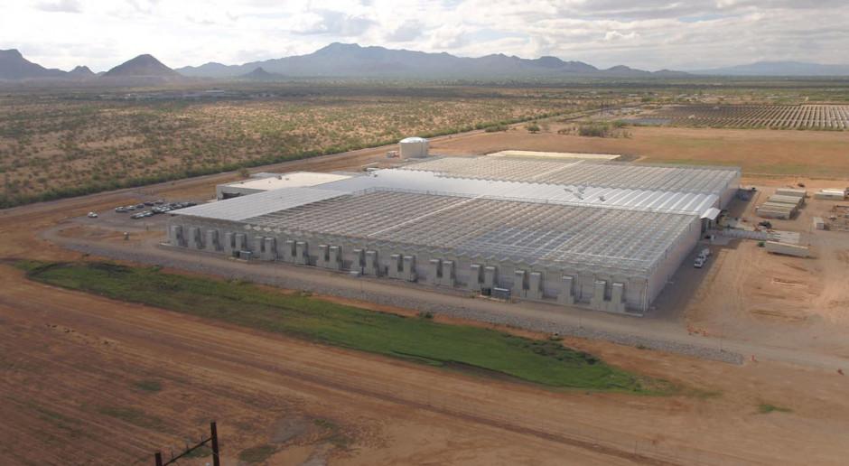 Bayer: nowe innowacyjne szklarnie w Marana w Arizonie