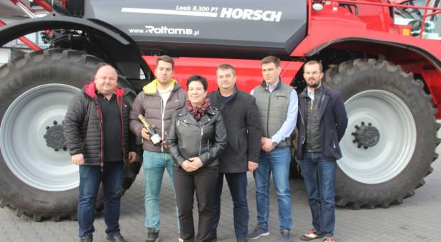Pierwszy samojezdny opryskiwacz Horsch na Podlasiu