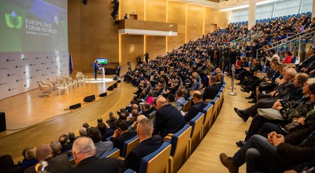 Europejskie Forum Rolnicze odwołane