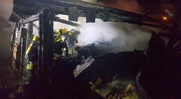 Spłonęła kolejna stodoła