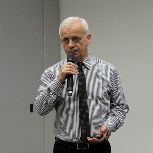 Prof. dr hab. Roman Łyszczarz z UTP w Bydgoszczy, fot. Ł.Ch.