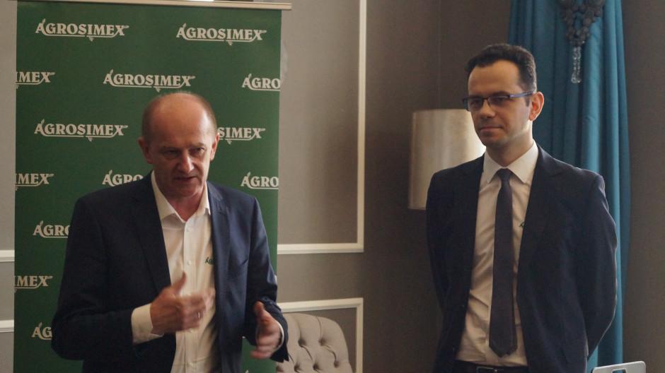 Krzysztof Zachaj i Piotr Barański podczas konferencji.