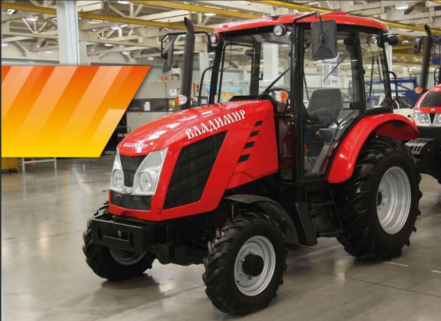 Prototyp ciągnika Ant Władimir 4050 o mocy 49 KM, fot. mat. prasowe