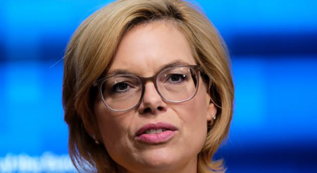 Niemiecka minister rolnictwa chce rozszerzenia pomocy dla rolników