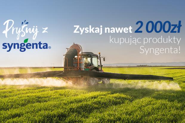 """Nawet 2000 złotych za zakup produktów Syngenta. Akcja """"Pryśnij z Syngenta"""" dalej trwa!"""