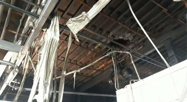 Wybuch i pożar w zakładzie przetwórstwa mięsnego pod Janowem Lubelskim
